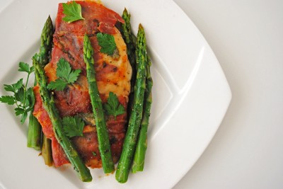 Chicken Saltimbocca with Asparagus COVER 1