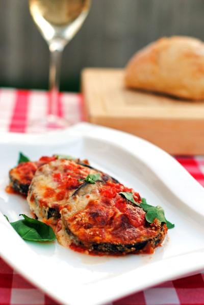 Eggplant Parmesan 4
