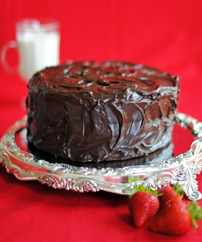 Old Fashioned Chocolate Cake 2-4