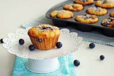 Blueberry Swirl Muffins 2
