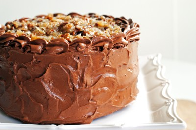 German Chocolate Cake 1