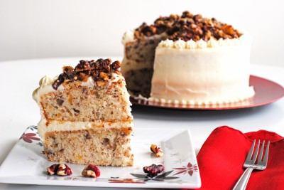 Red Walnut Praline Cake 9
