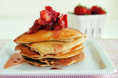 Pumped Up Protein Pancakes 1