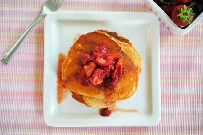 Pumped Up Protein Pancakes 4