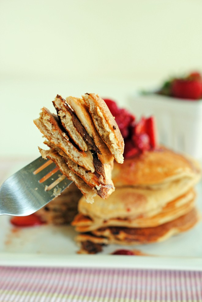 Pumped Up Protein Pancakes 6